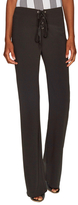 Lucca Couture Crepe Lace Up Flare Pant