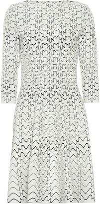 Alaã ̄A Abstract jersey dress