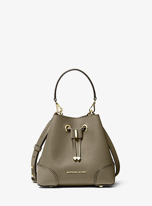 Michael Kors Mercer Gallery Extra-Small Pebbled Leather Crossbody Bag