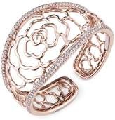 Sylvie 18k Rose Gold Bangle