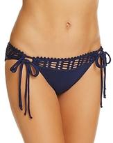 Robin Piccone Crochet Side Tie Bikini Bottom