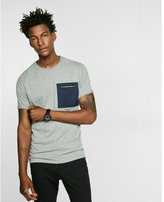 Express pocketed jersey short-sleeve tee