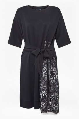French Connection Ono Lace Jersey Dress