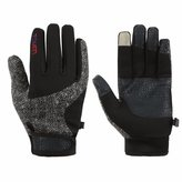 SCAVOR Touch Screen Gloves Cold Weather SmartPhone Cycling Gloves for Men Women - Great Touch Screen Function Technology - Lightweight Comfortable Warm for Winter Ourdoor Sports - N-BK-M