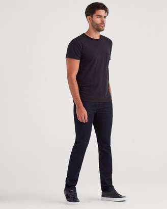 7 For All Mankind Luxe Performance Slimmy with Clean Pocket in Deep Well