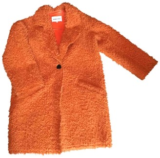 Bimba Y Lola Orange Faux fur Coat for Women