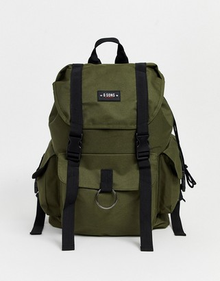ONLY & SONS khaki backpack