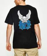 RVCA Wings Short Sleeve T-shirt Front Embroidery