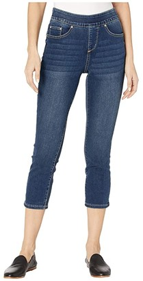 Jag Jeans Maya Pull-On Denim Crop (Harbor) Women's Jeans