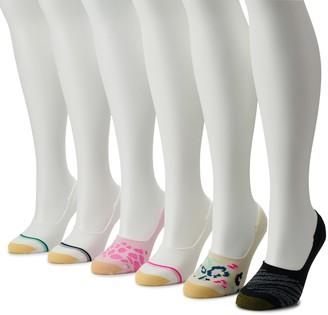 Gold Toe Women's GOLDTOE 6-pack Animal Print Liner Socks