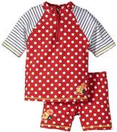 Sterntaler Girl's Swim Shorts - Red -