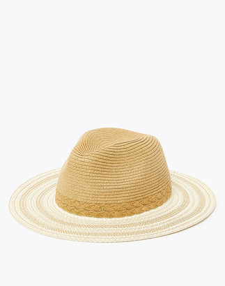 Marks and Spencer Textured Fedora Hat