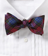 Daniel Cremieux Plaid Silk Bow Tie
