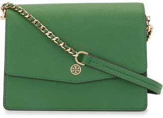 Tory Burch Robinson logo-plaque bag