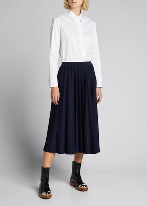 The Row Amos Cotton Poplin Shirt