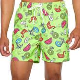 Arizona Lime Floatie Swim Shorts
