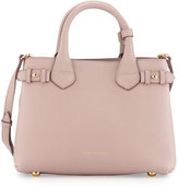 Burberry Banner House Check Derby Tote Bag, Pale Orchid