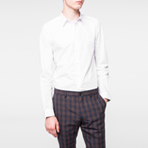 Paul Smith Men's Tailored-Fit White Cotton Shirt