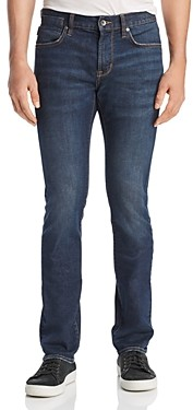 John Varvatos Bowery Straight Slim Fit Jeans in Storm Blue
