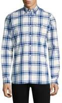 Barbour Elver Cotton Button-Down Shirt