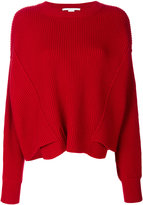 Stella McCartney ribbed jumper - women - Wool - 34
