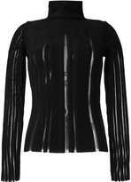 Fausto Puglisi turtleneck jumper - women - Polyamide/Viscose - 44