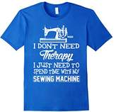 Men's I Just Need To Spend Time With My Sewing Machine T-Shirt Small