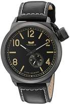 Vestal Men's CTN3L10 Canteen Analog Display Japanese Quartz Black Watch