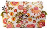 Kalencom Tuscany Cream Laminated Buckle Diaper Bag