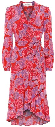 Diane von Furstenberg Exclusive to Mytheresa Carla Two floral silk midi dress