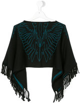 Marcelo Burlon County Of Milan Kids fringe edge shawl