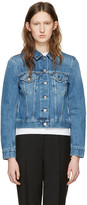 Acne Studios Blue Denim Top Jacket