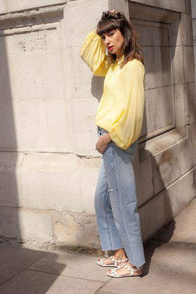 Felina Levete Yellow Shirt - M