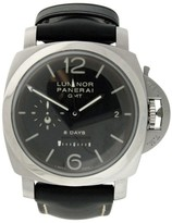 Panerai Luminor GMT PAM0233 Stainless Steel & Leather 44mm Watch