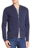 HUGO BOSS Long Sleeve Cotton Blend Jacket
