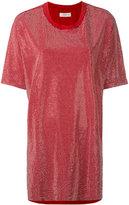 Faith Connexion loose-fit studded T-shirt - women - Cotton/Aluminium - XS