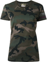 Valentino camouflage T-shirt - women - Cotton - M