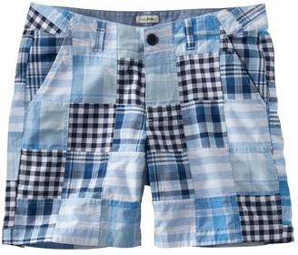 "L.L. Bean Women's Lakewashed Chino Shorts, 6"" Patchwork"