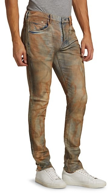 Thumbnail for your product : Purple Brand P001 Rust Dirty Jeans