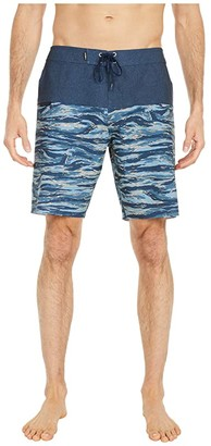 O'Neill Hyperfreak Nomad Boardshorts (Navy) Men's Swimwear