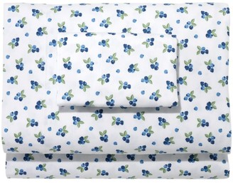 L.L. Bean Blueberry Flannel Sheet Collection