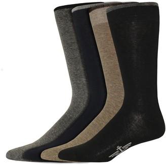 Dockers Men's Classic Smart 360 Flex 4-pack Dress Socks