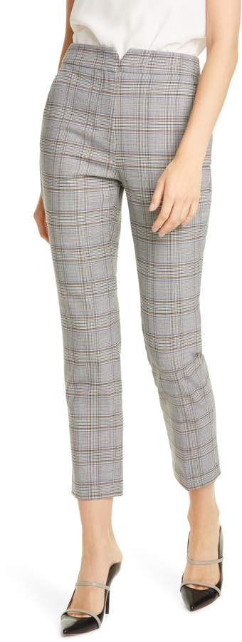 Rebecca Taylor Tailored by Plaid Suiting Trousers