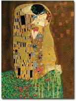 "Gustav ""The Kiss"" Canvas Wall Art by Klimt"