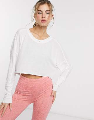 Free People Movement pacific long sleeve top-White