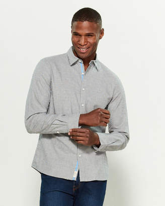 Civil Society Dover Long Sleeve Dotted Shirt