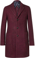 Etro Mélange Wool, Alpaca and Silk-Blend Coat