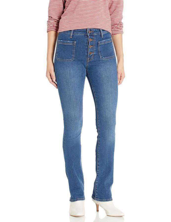 Sanctuary Women's High Rise Demi Boot Cut Jean