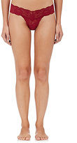 Cosabella Women's Never Say Never Cutie Low-Rise Thong-BURGUNDY