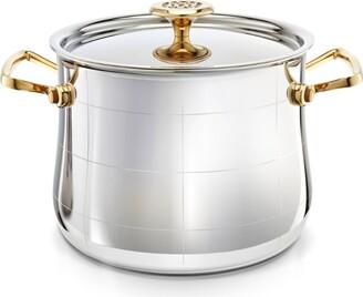 Ondine Platine Stock Pot with Lid (22cm)